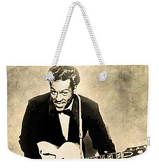 Weekender Tote Bag featuring the digital art Chuck Berry by Anthony Murphy