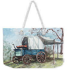 Chuck Wagon Weekender Tote Bag