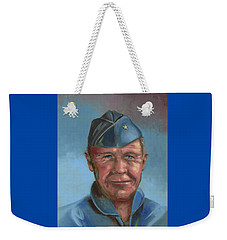 Chuck Yeager Weekender Tote Bag