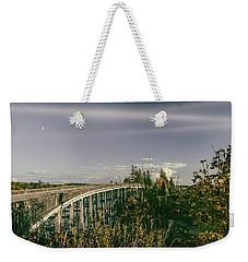 Chuckanut Bridge Weekender Tote Bag