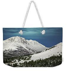 Chugach Night Weekender Tote Bag