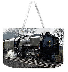 Weekender Tote Bag featuring the photograph Chuggin Along by Mark McReynolds