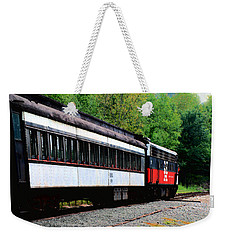 Weekender Tote Bag featuring the photograph Chugging Along by RC DeWinter