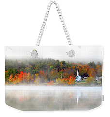 Church Across The Lake Weekender Tote Bag