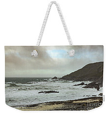 Weekender Tote Bag featuring the photograph Church Cove Gunwallow by Brian Roscorla