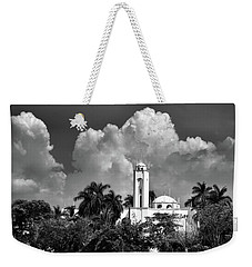 Church In Black And White Weekender Tote Bag by Jim Walls PhotoArtist