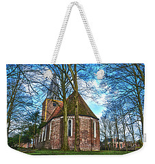 Church In Winsum Weekender Tote Bag