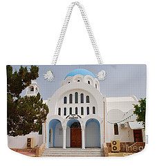 Church Of Agioi Anargyroi On Agistri Weekender Tote Bag