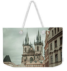 Weekender Tote Bag featuring the photograph Church Of Our Lady Before Tyn by Jenny Rainbow