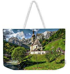 Church Of St. Sebastian Weekender Tote Bag