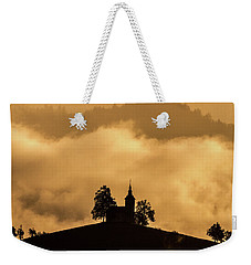 Weekender Tote Bag featuring the photograph Church Of St. Thomas #2 - Slovenia by Stuart Litoff