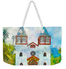 Church Of The Holy Family Weekender Tote Bag