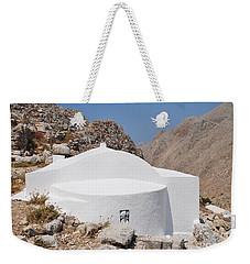 Church Of The Holy Trinity On Halki Weekender Tote Bag