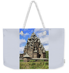 Church Of The Intercession Of The Blessed Virgin Mary, A Unique Monument Of Church Architecture Of A Weekender Tote Bag