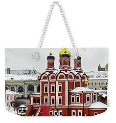 Church Of The Znamensky Monastery  Weekender Tote Bag