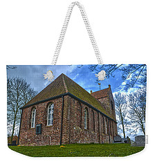 Church On The Mound Of Oostum Weekender Tote Bag