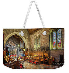Weekender Tote Bag featuring the photograph Church Organist by Adrian Evans