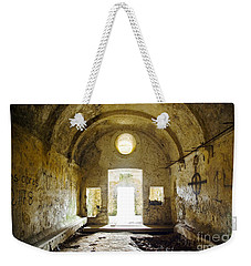 Church Ruin Weekender Tote Bag by Carlos Caetano