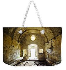 Church Ruin Weekender Tote Bag by Carlos Caetano