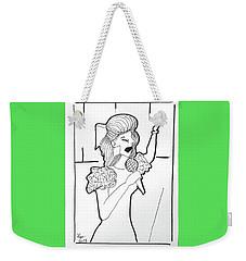 Church Singer Weekender Tote Bag