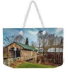 Church Street Bridge Weekender Tote Bag