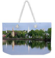 Churches, Mahone Bay, Nova Scotia Weekender Tote Bag