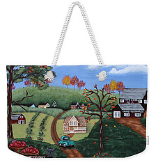 Cider Valley Weekender Tote Bag