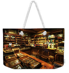 Cigar Shop Weekender Tote Bag