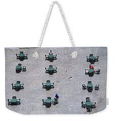 Cincinnati - Fountain Square Weekender Tote Bag by Frank Romeo