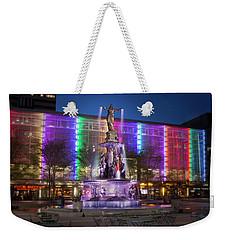 Cincinnati Fountain Square Weekender Tote Bag