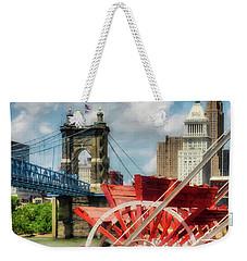 Cincinnati Landmarks 1 Weekender Tote Bag