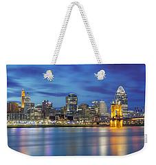 Cincinnati, Ohio Weekender Tote Bag