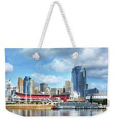 Cincinnati River Days 2 Weekender Tote Bag