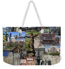 Cincinnati's Favorite Landmarks Weekender Tote Bag by Robert Glover