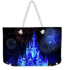 Cinderella Castle Fireworks Weekender Tote Bag