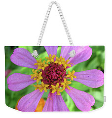 Weekender Tote Bag featuring the photograph Cinderella Flower by Mary Ellen Frazee