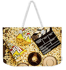 Cinema Of Entertainment Weekender Tote Bag by Jorgo Photography - Wall Art Gallery
