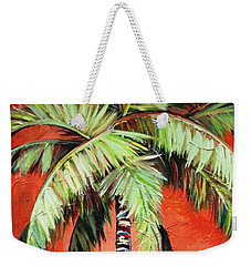 Cinnamon Palm Weekender Tote Bag