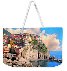 Cinque Terre Weekender Tote Bag by Dominic Piperata