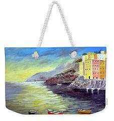 Cinque Terre Dreams Weekender Tote Bag
