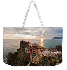 Cinque Terre Tranquility Weekender Tote Bag by Mike Reid