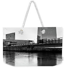 Cira Centre - Philadelphia Urban Photography Weekender Tote Bag by David Sutton