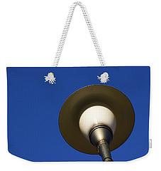 Circle And Blues Weekender Tote Bag by Prakash Ghai