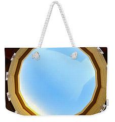 Circle Skylight Weekender Tote Bag