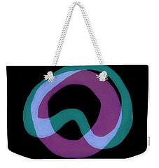 Circle Study Three Weekender Tote Bag