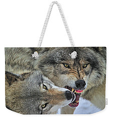 Weekender Tote Bag featuring the photograph Circle by Tony Beck