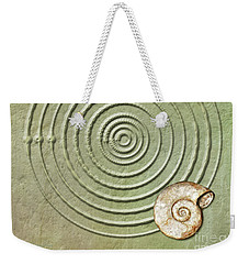 Circles And Spiral Weekender Tote Bag