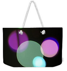 Circles And String Weekender Tote Bag by Susan Stone