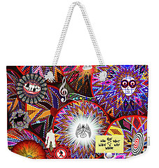 Circles Everywhere Weekender Tote Bag