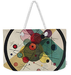 Circles In A Circle Weekender Tote Bag